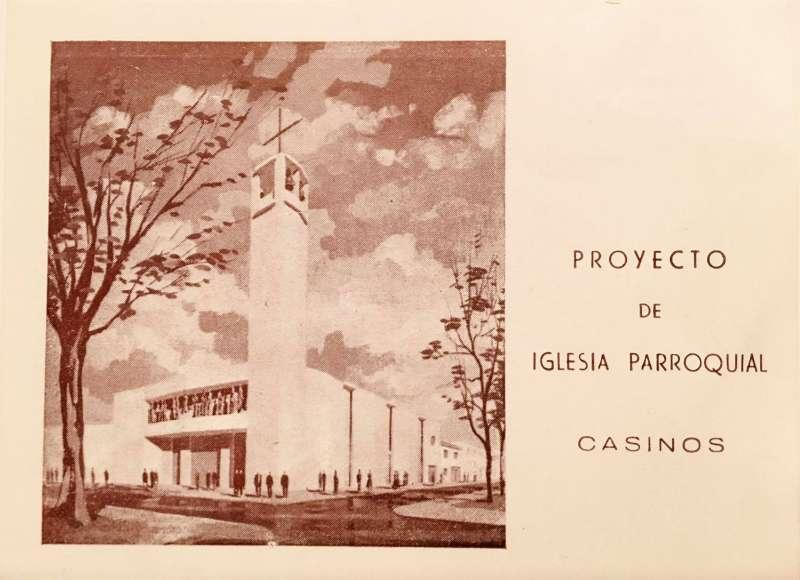 Proyecto de la Iglesia de Casinos. / JSM