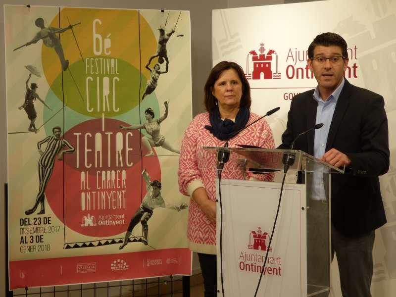 Presentació del VI Festival de Circ i Teatre d?Ontinyent. EPDA