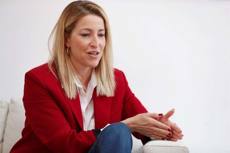 La cabeza de lista de Ciudadanos al Congreso por Valencia, María Muñoz, asegura, en una entrevista con la Agencia EFE, que su partido es