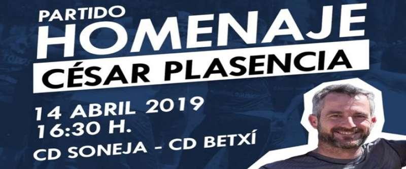 El CD Soneja muestra su agradecimiento a Plasencia