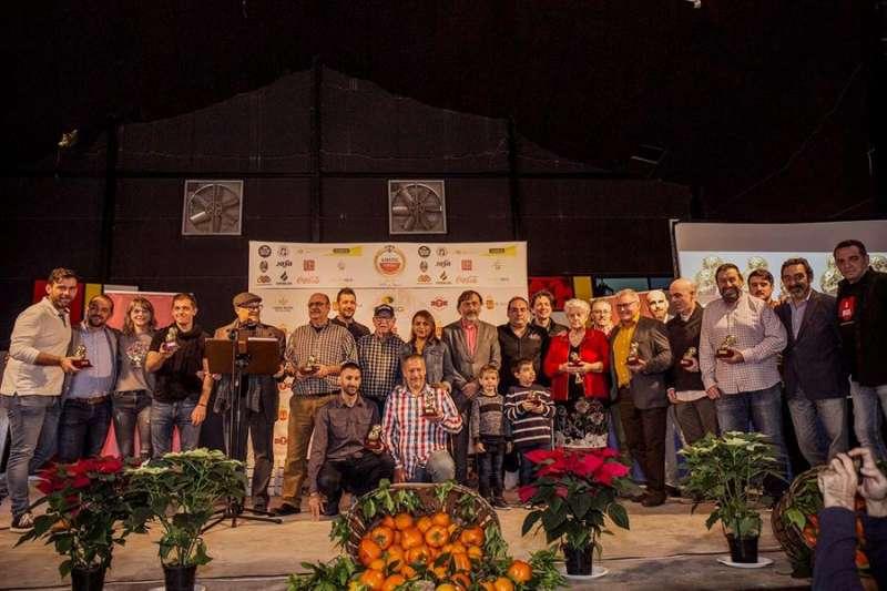 Imagen de los premiados con el Cacau d