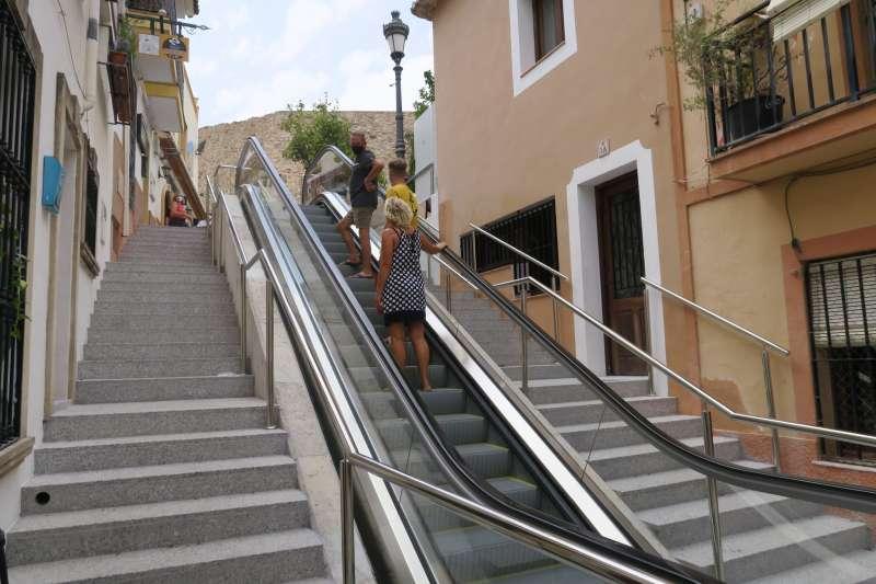 Calle Alcalde Vicente Pastor de Calp. EPDA
