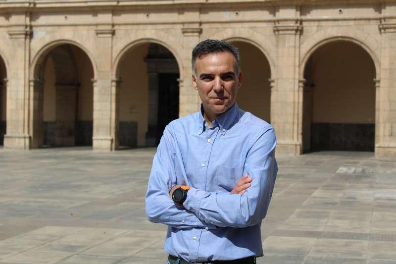 El portavoz de Ciudadanos (Cs) enel Ayuntamiento de Castellón, Alejandro Marín-Buck. -EPDA