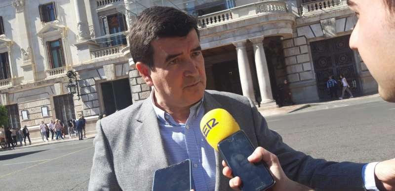 El portavoz de Ciudadanos en València, Fernando Giner. EPDA