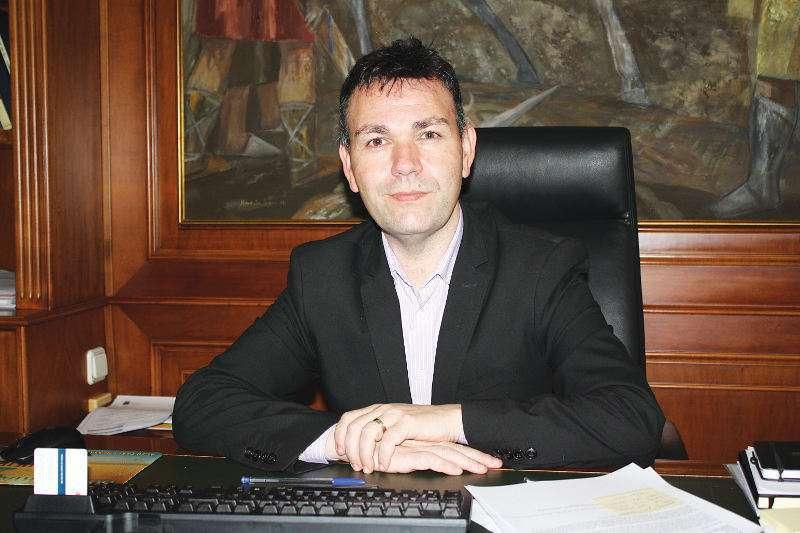 Jesús Monzó, alcalde de Catarroja. EPDA