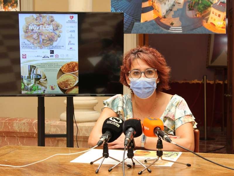 Presentación de Novelda en Alicante Gastronómica. EPDA