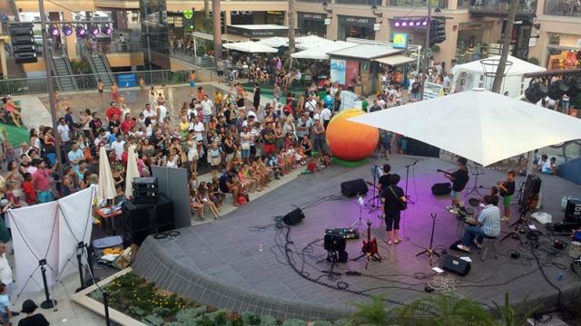 Imagen del concierto solidario. FOTO: EPDA