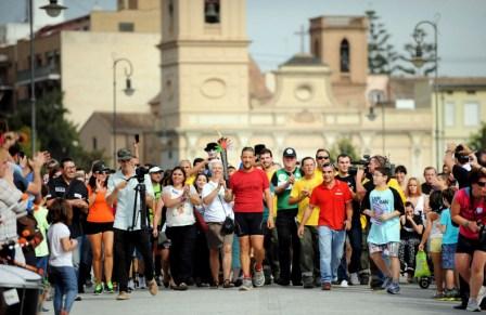Etapa final del Camino Solidario. FOTO: DIVAL