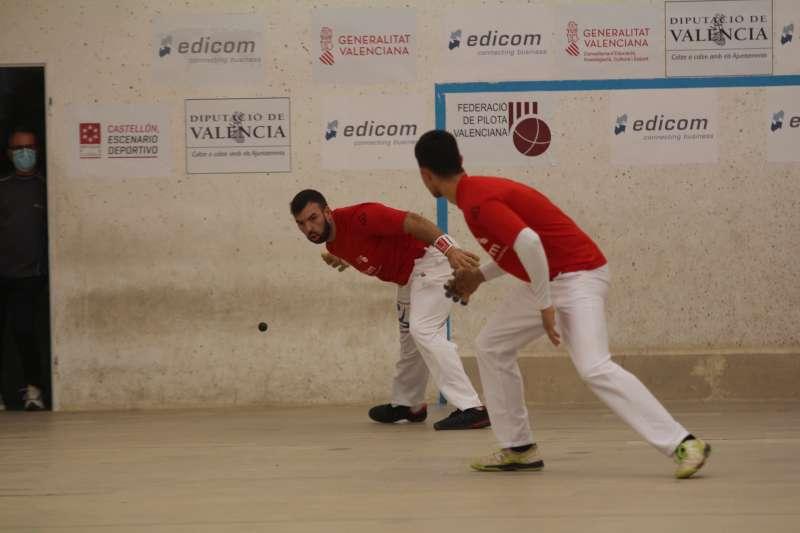 Final de competició de pilota valenciana l