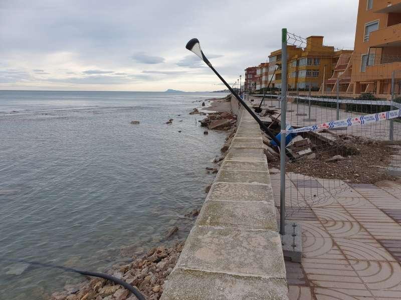 Platja del litoral valencià./EPDA