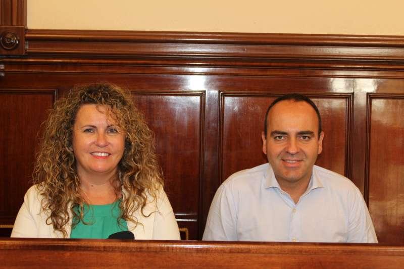 Cristina Fernández y Josep Martí.- EPDA