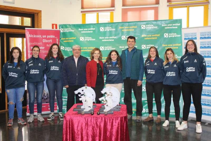 Presentació finals Circuits femenins 2018 a Alcàsser. EPDA