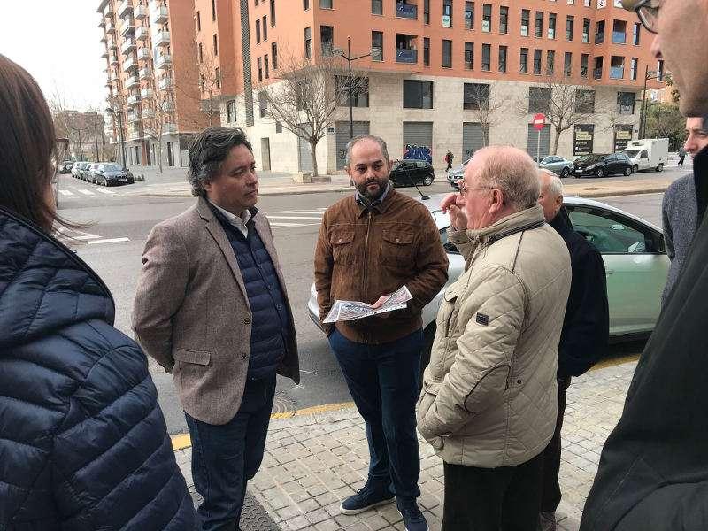 El presidente de la gestora del PP de Valencia ciudad, Luis Santamaría. EPDA