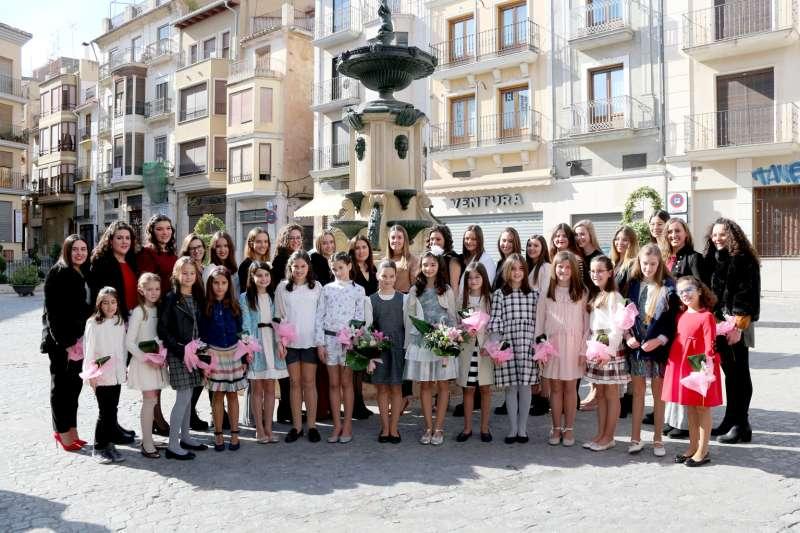 Reinas, damas y cortes mayor e infantil