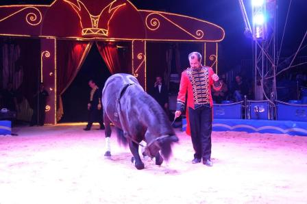 Alberto Segura es, junto con su hermano Gerardo, el responsable del Circo Alaska. FOTO: EPDA