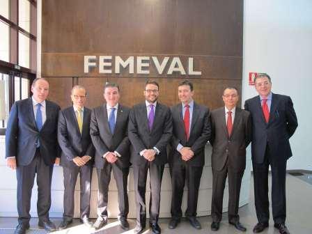 Encuentro de ASELEC en la sede de FEMEVAl. EPDA
