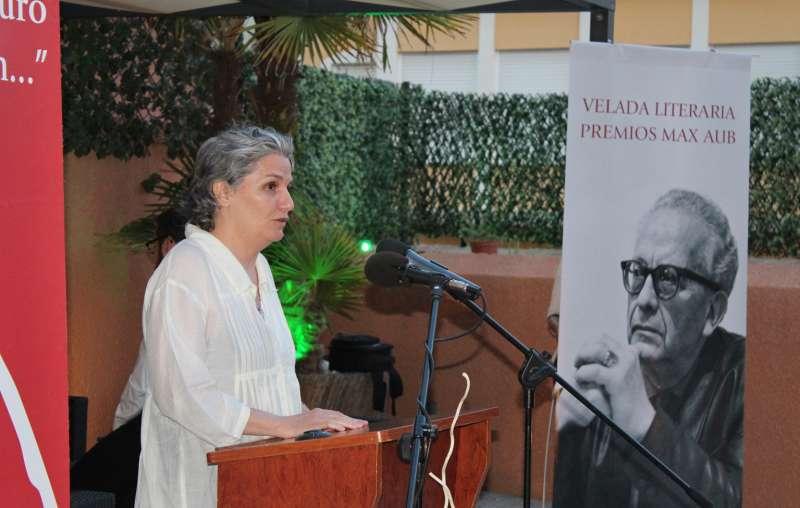 Teresa Álvarez Aub, nieta del escritor y presidenta de la Fundación