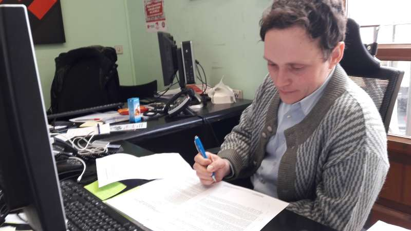 El regidor de Transparència de Paterna. EPDA
