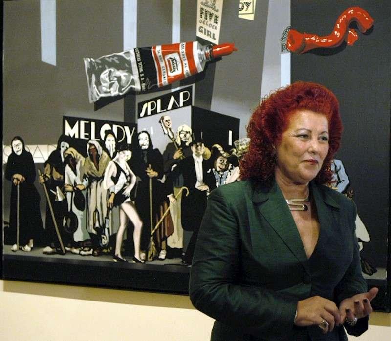 La exdirectora del Instituto Valenciano de Arte Moderno (IVAM) Consuelo Císcar. EFE/Archivo