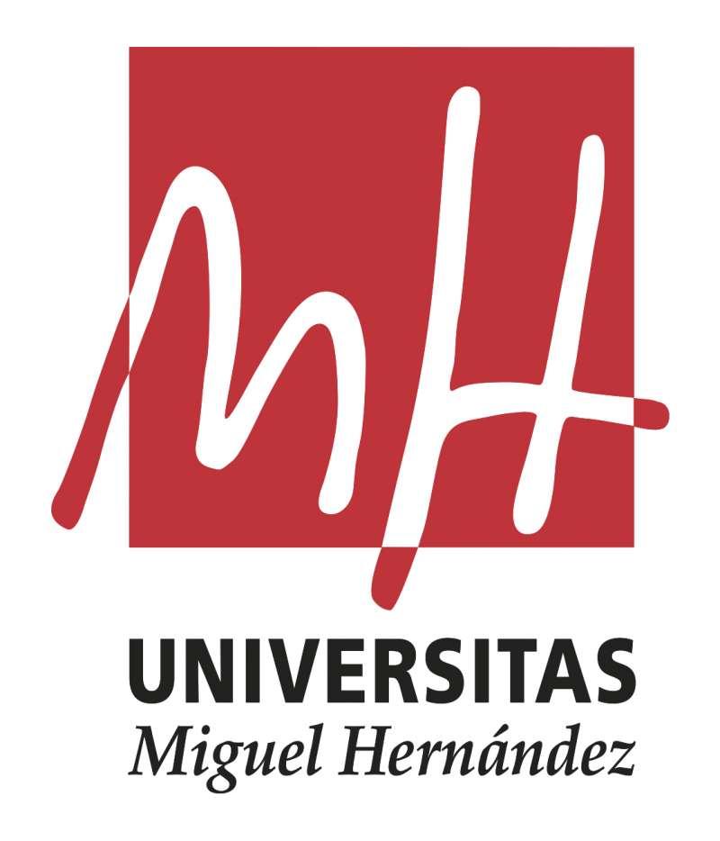 Logo de la UMH.