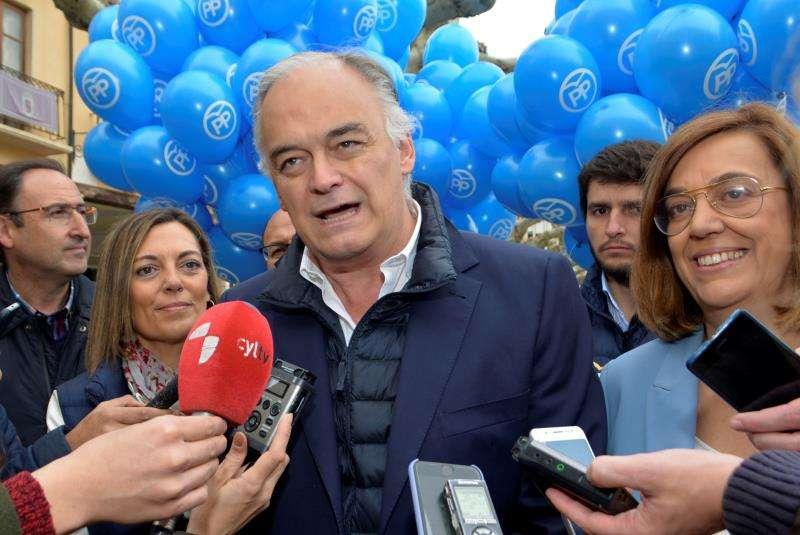 El candidato al Parlamento Europeo por el PP Esteban González Pons, en una imagen reciente. EFE