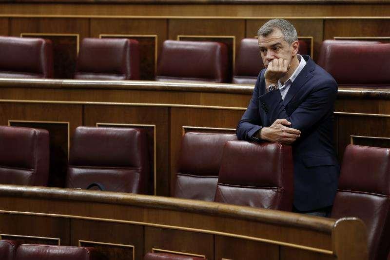 Toni Cantó en el Congreso de los Diputados. EFE
