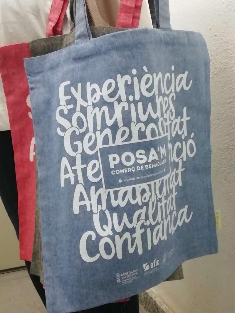 Bolsas de promoción de la campaña. / EPDA