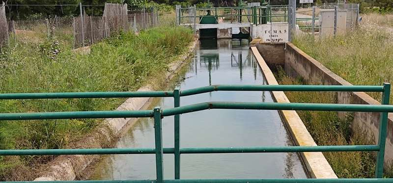 Zona donde se han producido los ahogamientos. EPDA.