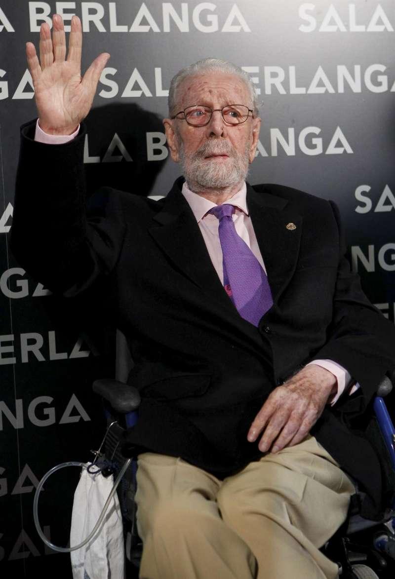 El cineasta Luis García Berlanga.