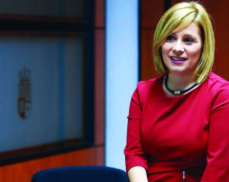 La portavoz del Partido Popular en el Ayuntamiento de La Pobla de Vallbona, Mari Carmen Contelles
