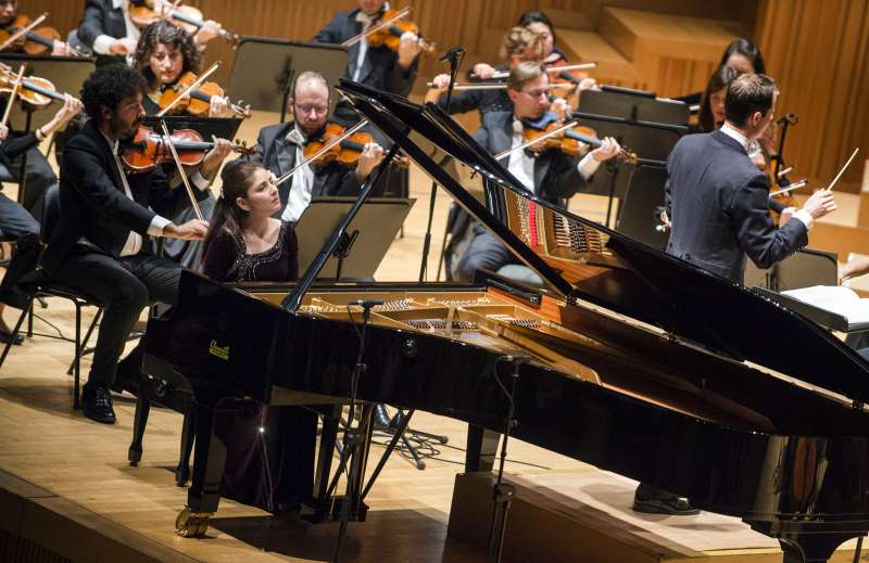 La guanyadora del Concurs Internacional de piano Premi Iturbi.