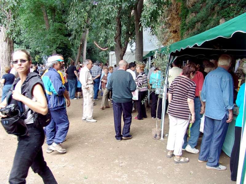 El parque de la Floresta vuelve a acoger la Feria del Aceite