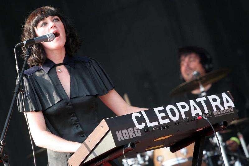 El grupo Ladytron durante una actuación. EFE/Archivo