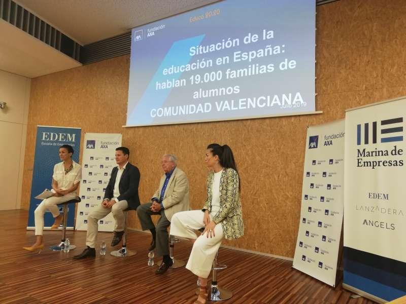 Presentación del estudio en la sede de EDEM. EPDA