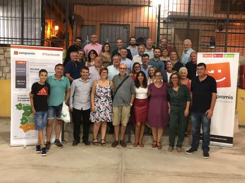 Membres de Compromís per Burjassot. EPDA
