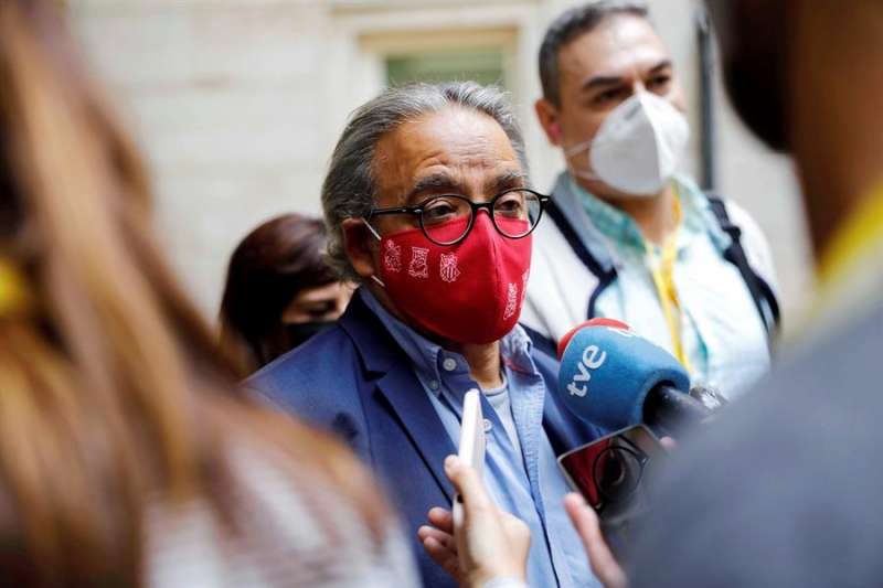 El síndic del grupo parlamentario del PSPV-PSOE, Manolo Mata. EFE/Ana Escobar/Archivo