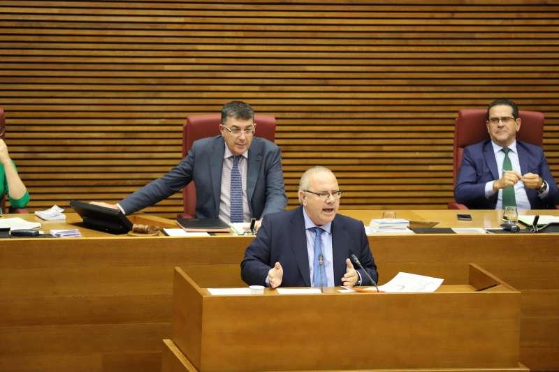 Vicente Fernández, diputado de Ciudadanos en les Corts Valencianes
