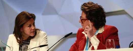 De Cospedal y Rita Barberá, en la convención del PP. PPCV.COM