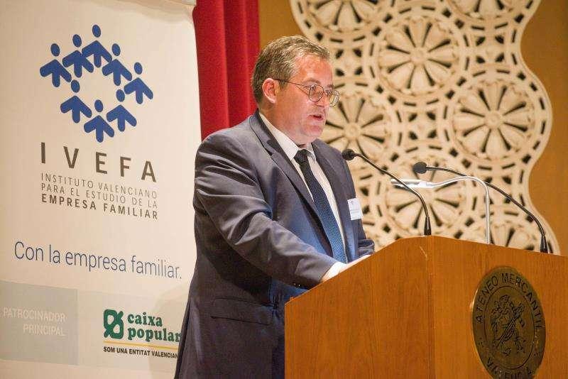 El presidente del Instituto Valenciano de Empresa Familiar (IVEFA), Francisco Vallejo EFE/IVEFA