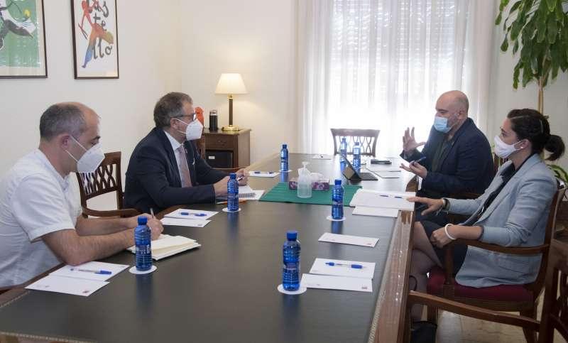 Reunión Diputación y Consellería