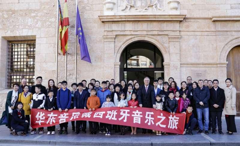 Delegación de China en Llíria. /epda