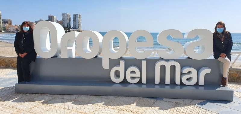 Letrero en la Playa de la Concha/EPDA