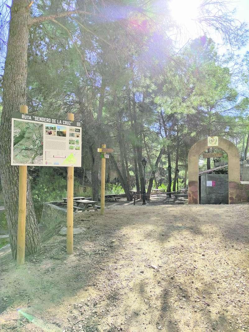 Área recreativa La Canaleta, punto de inicio y final de la Ruta Sendero de la Cruz. / EPDA