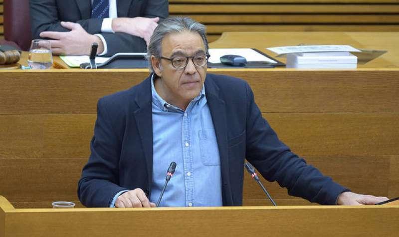 El vicesecretario del PSPV-PSOE y síndic socialista en Les Corts valencianes, Manolo Mata. EPDA
