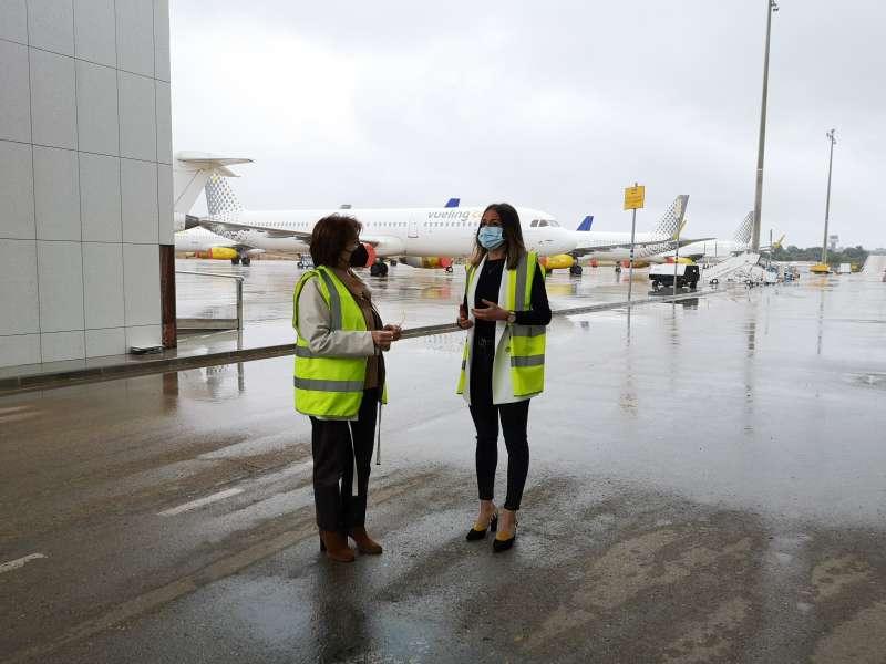 Visita al aeropuerto/EPDA