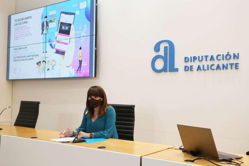 Julia Parra ha presentado la nueva página web
