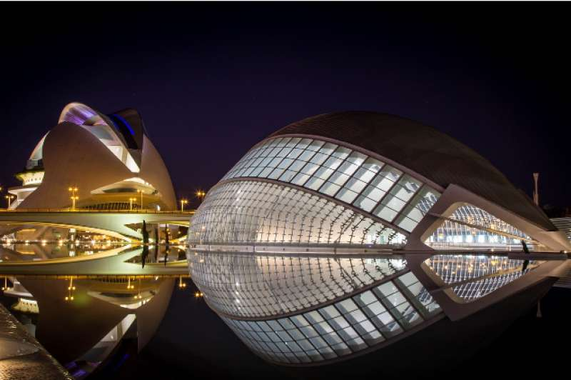 Imagen nocturna de València. EPDA