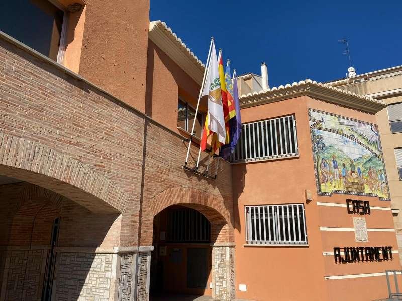 Ayuntamiento de Serra. / EPDA