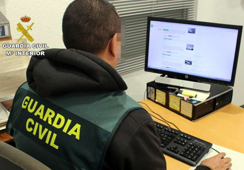La Guardia Civil realizó maniobras de reanimación