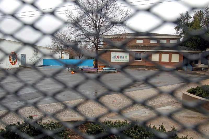 Un colegio cerrado. EFE/Archivo